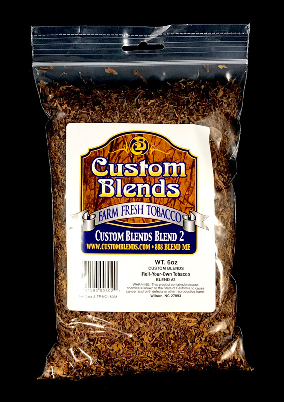 Custom Blends roll your own tobacco blend #2