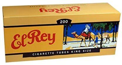 El Rey Full Flavor King Size Cigarette Tubes