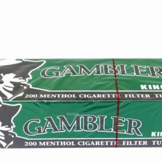 Gambler Menthol Cigarette Tubes