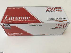 Laramie Full Flavor King Size Cigarette Tubes