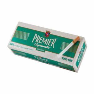 Premier Menthol King Size Cigarette Tubes