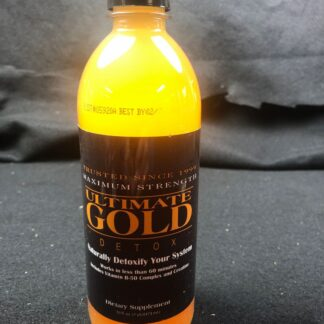 Ultimate Gold Detox Dietary Supplement Drink