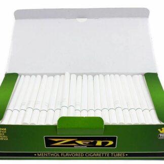 Zen Menthol Cigarette Tubes