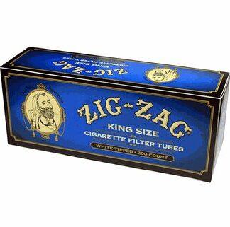 Zig Zag Light Cigarette Tubes