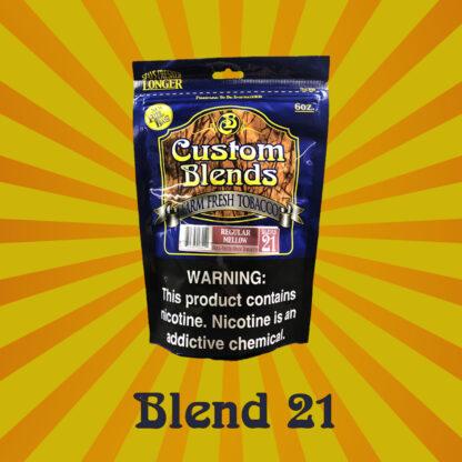 Custom Blends #21 - Premium Regular Mellow Cigarette Tobacco