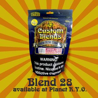 Custom Blends #28 - Regular Full Flavor Cigarette Tobacco