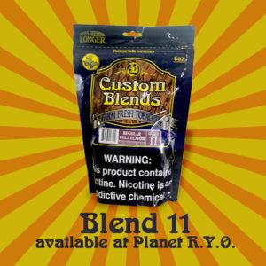 Custom Blends 11 Regular Full Flavor Cigarette Tobacco