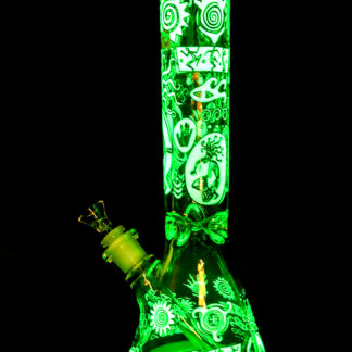 Glow In The Dark Water Pipe in Dark
