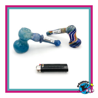 Glass Bubblers with Inside Hammer