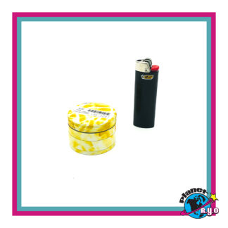 4-piece Aluminum Grinder - Yellow