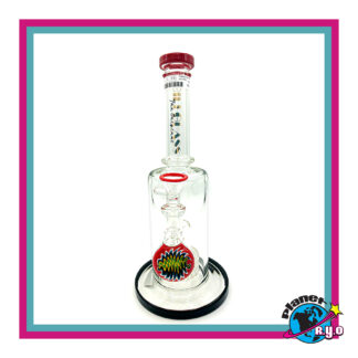 "Gili Glass 10"" Water Pipe w/ Percolator"