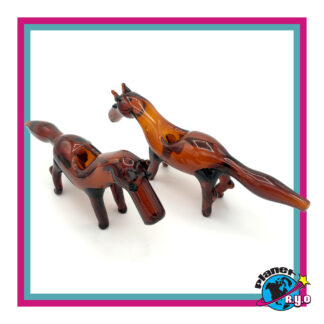 Glass Horse Pipes