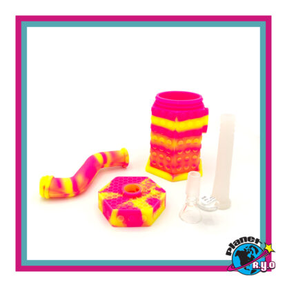 Silicone Bubbler by Waxmaid - disassembled