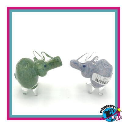 Glass Rhino Pipes