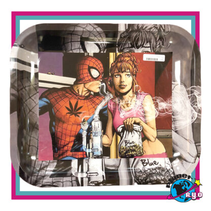 Spider-Man and Mary Jane Rolling Tray
