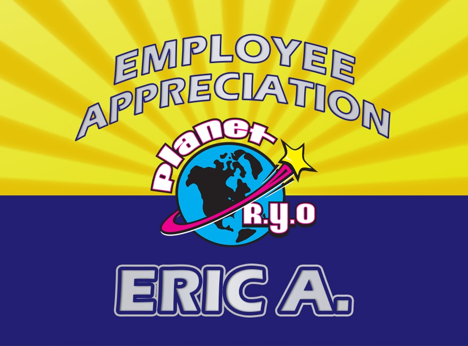 Employee Appreciation - Eric Arnold