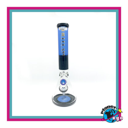 """16"""" Blue Gili Glass Water Pipe"""
