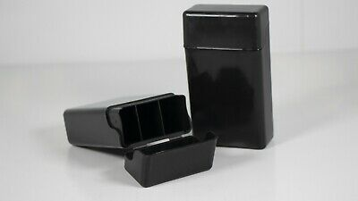 Fujima Plastic Cigarette Case Black - 100mm