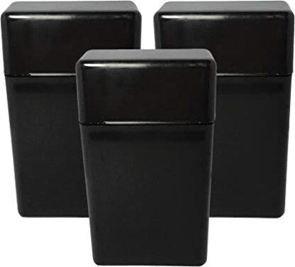 Fujima Plastic Cigarette Case Black - King Size
